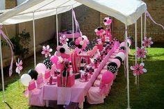 decoracion para 15 años al aire libre con globos (5)