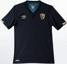 Umbro apresenta nova camisa reserva do Lens - Show de Camisas Camisas De  Futebol 57cc8aaadab48