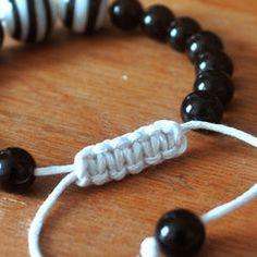 Sliding Macrame Closure For Bracelets