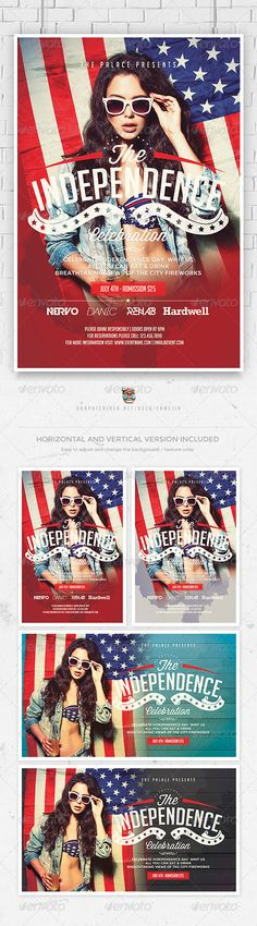 graphicriver july 4th patriotic usa flyer