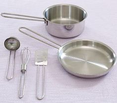 Metal Pots & Pans Se