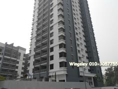 Q1 Condominium LRT Bandar Permaisuri - Q1 Condominium is located along Jalan Sri Permaisuri in Bandar Sri Permaisuri, Kuala Lumpur. This is a high-rise condominium development built on leasehold land. It is a low-density residential property housing only 174 units. A typical unit measures 1,280 sq ft and a penthouse unit is 2,195 sq ft.  This property is overlooking 40 acres of scenic lakeside and city view. Residents have access to facilities such as covered parking, gymnas