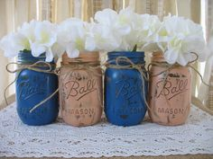 Summer Nautical Weddings Navy and Coral