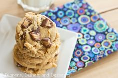 Reese's Peanut Butter Cookies & Top 12 in 2012 from @Dinnersdishesdessert