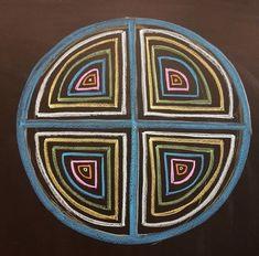 Blackboard Drawing, Chalkboard Drawings, Form Drawing, Pattern Drawing, Wet On Wet Painting, Rangoli Ideas, Geometric Drawing, Art N Craft, First Art