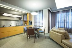 2tec2 woven vinyl flooring Collection 'Seamless Tiles' Moonrock ST - apartment Lithuania