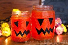 Easy Halloween Lante