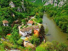 Cherepish Monastery  Built in the 13th Century  Located in the Bolkan Mountain near Vratza city