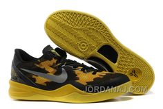 http://www.jordanaj.com/854215537-nike-zoom-kobe-8-shoes-mesh-black-yellow-grey.html 854-215537 NIKE ZOOM KOBE 8 SHOES MESH BLACK YELLOW GREY AUTHENTIC Only $88.00 , Free Shipping!