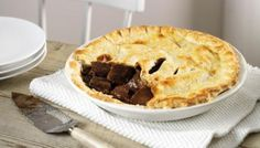 John Barrowman showcases his recipe for homemade steak pie, using ready-made pastry to save time.