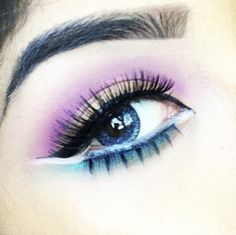 GEO Nudy Blue circle lens from AngelContacts <3 Love contacts!