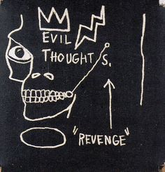 """yakubgodgave: """" Jean-Michel Basquiat """""""