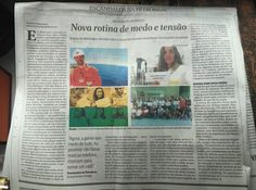 """CARLOS  -  Professor  de  Geografia: Michelle Daher e O Globo: """"Jornal não tem compromi..."""