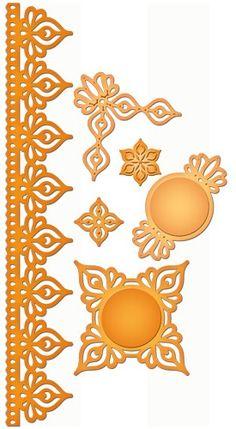 Spellbinders Shapeabilities - Persian Accents