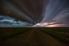 Last night's amazing shelf cloud in eastern South Dakota. This is one of many shots I took last night of this crazy stack of pancakes in the sky before having to run :-)  yes I was a bit scared  Taken north of Dell Rapids, SD July 25th 2015 10:21PM