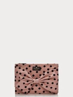 kate spade Dot Clutch. Part of the On Purpose collection.