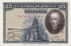 25 Pesetas 1928 (de la Barca) Spanien Zweite Republik