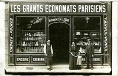Commerce Grands Économats Parisiens Belle Devanture