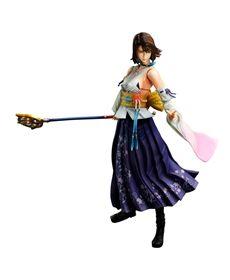 Final Fantasy X HD Figur Yuna 24cm Play Arts Kai - Final Fantasy 10 + 10-2