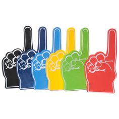 Foamies® Foam Finger Number One Fan