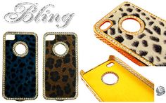 """60% off """"BLING"""" Soft-Touch iPhone 4/4S Protective Case, $14"""