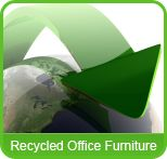 Also sells recycled second hand office furniture including desks and chairs. Office Furniture, Plant Leaves, Recycling, Logo, Business, Logos, Store, Upcycle, Business Illustration