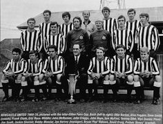 Newcastle United 1969/70.