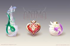 Anima: perfumes set 1 by Wen-M.deviantart.com on @deviantART