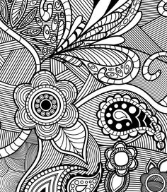 Relax With These 188 Free Printable Coloring Pages For Adults Hello Kids Adult