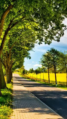 🇩🇪 Sunny country road (northern Germany) by Bettina Lichtenberg cr. Studio Background Images, Dslr Background Images, Photo Background Images, Picsart Background, Photo Backgrounds, Hd Background Download, Digital Backgrounds, Beautiful Nature Wallpaper, Beautiful Landscapes