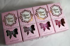 GlitterDaze: 'Plastics Collection' nail polish swatches and review- From Polish With Love