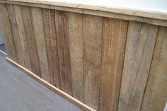 Steigerhout lambrisering maken google zoeken idee n voor het huis pinterest google and - Deco muur corridor ...