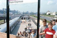 Station de l'Expo-Express à la Cité du Havre, 1967, VM94-EXd025-027
