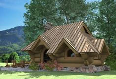 of wood Wooden Arbor, Arbors, Cabin, House Styles, Home Decor, Homemade Home Decor, Cabins, Cottage, Pergolas
