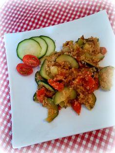 Simi´s Sattmacher- Rezepte und mehr.....: Gemüsepfanne mit Couscous