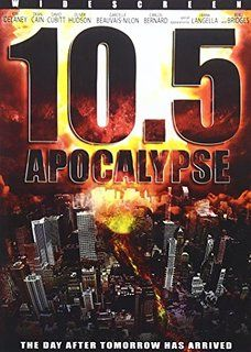 Apocalypse: Apocalypse explodes in a shockwave of thrills, blazing action and exciting special effects. Sequel to - the highest rated miniseries of the television series. 2012 Movie, Movie Tv, Movie List, Los Angeles Earthquake, Apocalypse, Swoosie Kurtz, Mega Shark, Kim Delaney, End Of The World