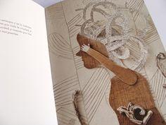 Los sueños de Helena Texto de Eduardo Galeano. Ilustracion Isidro Ferrer.   Libros del Zorro Rojo, 2011 Cartoon Tv, Childrens Books, Folk Art, Illustration, Collage, Graphic Design, Abstract, Llamas, Peeps