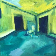 Sue Kaplan: Green Lockdown Room: fine art | StateoftheART Canvas Size, Oil On Canvas, South African Artists, Orange Is The New, Space Architecture, Shopping Day, Affordable Art, Online Art, Original Artwork
