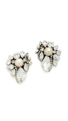 Erickson Beamon 'White Wedding' Earrings