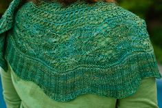 I just love Kirsten Kapur's designs. Her new shawl is no exception. I've got to try one of her patterns soon! #shawl #knitting