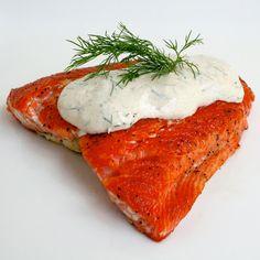 A Bitchin' Kitchen: Seared Salmon with Dill Dijon Sauce