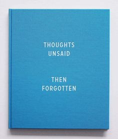 thoughts unsaid