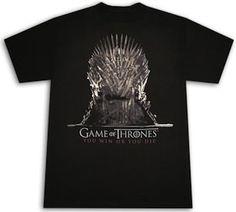 Game Of Thrones Iron Throne T-Shirt