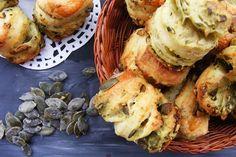 réteges tökmagos pogácsa Bread Recipes, Cake Recipes, Dessert Recipes, Cooking Recipes, Healthy Recipes, Croissant Bread, Hungarian Recipes, Hungarian Food, Kitchen Time