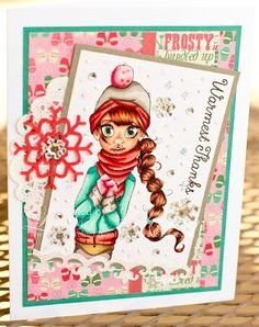 Hello!  Larisa here sharing a fun little card with you.  This is my first time posting on the Saturated Canary Challenge Blog!  I'm one of the newest members of the full DT and I'm so excited!  I've b