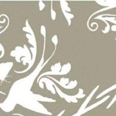 Jules Davis - Garden of Delights - Hummingbird in Taupe