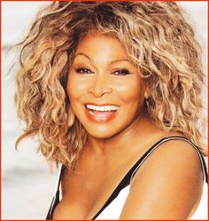 Tina Turner, hot rocking Mama! My role model for aging! Love her music too!