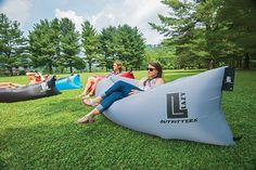 Wherever you want to put your feet up, the Lazy Lounger by Lazy Outfitters is…