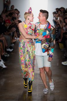 Miley Cyrus, Jeremy Scott Spring 2015