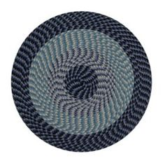 Festival Safari Area Rug (Assorted Sizes) - Sam's Club Braided Rag Rugs, Navy Rug, Polypropylene Rugs, Elements Of Style, Striped Rug, Rectangular Rugs, Natural Rug, Round Rugs, Muted Colors